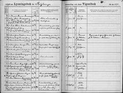 Carl and Emma - Marriage Record - 01 29 1898 - Rogberga
