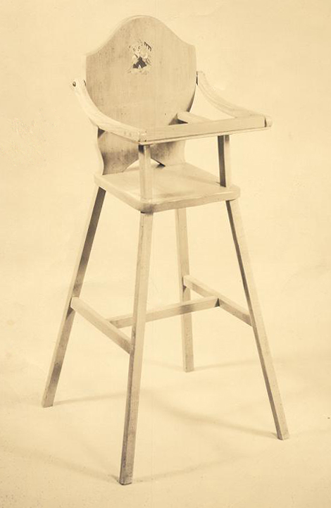 Philip_Swanson_carpentry_skills_doll_high_chair