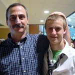 Dad and the Graduate Phil EHS Graduation June 17th 2011