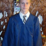 PJ in his Graduate gown EHS Graduation June 17th 2011