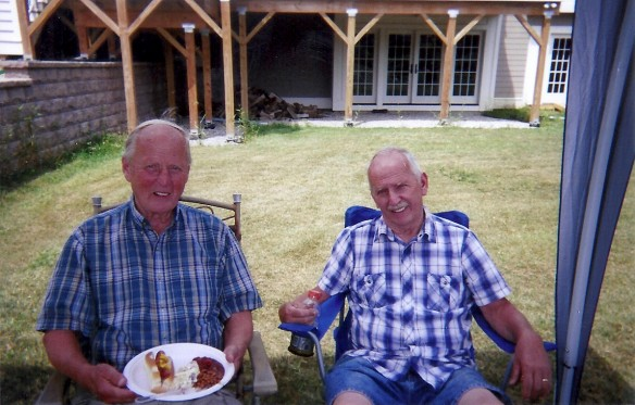 Phil and Jim Swanson